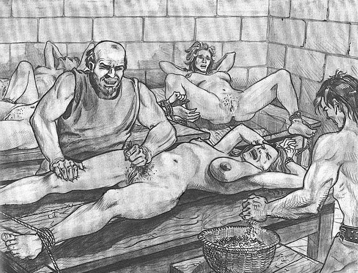 Joseph Farrel Bdsm Drawing Artwork