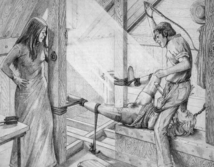 farrel torture drawings bdsm - XXGASM